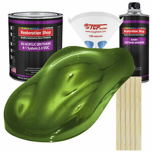 Synergy Green Metallic Gallon Kit Single Stage Acrylic Urethane Car Paint