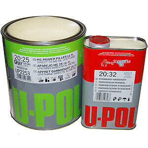 U Pol Urethane High Build Dtm Primer Auto Car Paint