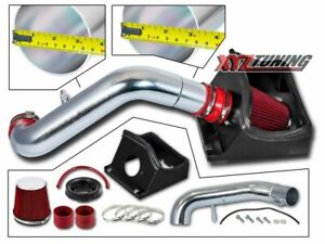 3 5 Red Heat Shield Cold Air Intake Induction Kit Filter For 11 14 F150 5 0l V8