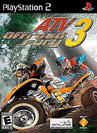ATV Offroad Fury 3 PLAYSTATION 2 (PS2) Action / Adventure (Video Game)