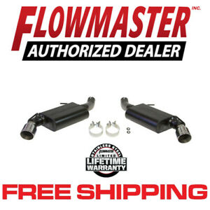 Flowmaster 817744 16 19 Chevrolet Camaro Ss 6 2l 3 Axle Back Exhaust System