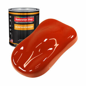 Hot Rod Red 1 Gallon Urethane Basecoat Car Auto Body Paint