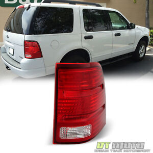 2002 2005 Ford Explorer Tail Light Brake Lamp Replacement Right Passenger Side
