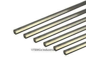 6x 5 16 Inch 18 Long 304 Stainless Steel Hex Bar Lathe Ss Rod Stock 3125