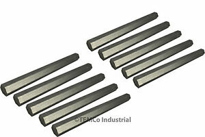 10x 3 4 Inch 10 Long 304 Stainless Steel Hex Bar Lathe Ss Rod Stock 75