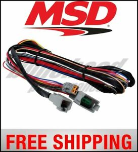 Msd Ignition Harness Replacement For Programmable Digital 7 Series Ignitions