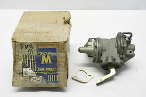 Nors Fuel Pump 1951 Ford Passenger Car Coupe Sedan Six Cylinder 9599