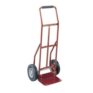Safco Products 4092 Continuous Handle Heavy duty Utility Hand Truck Red