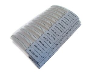 0805 Smd Resistor Kit 80 Value Total 2000 Pieces Surface Mount