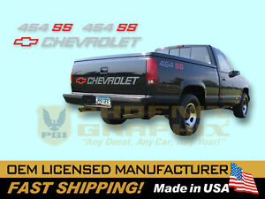 1990 1991 Chevrolet 1500 Truck 454 Ss Decals Stripes Kit