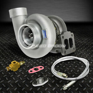 Gt45 800 hp T4 t66 3 5 V band 1 05 A r 92 Trim Turbo Charger 36 oil Feed Line