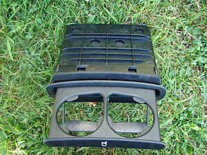 2003 04 05 06 07 Saab 9 3 Rear Seat Cup Holder Complete Assembly
