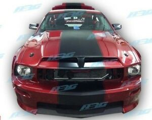 For 2005 2006 2007 2008 05 09 Mustang Ford Gt500 Look Fiberglass Hood Gt500 152h