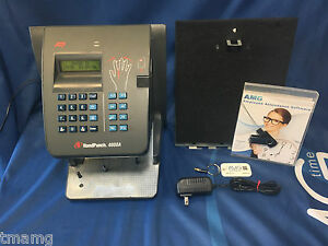 Schlage Ingersoll Rand Handpunch 4000 E W Amg Employee Management Software