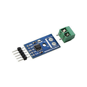 2pcs Max6675 Thermocouple Temperature Sensor Module Type K Spi Interface