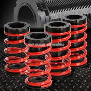 For 95 04 Chevy Cavalier Red 0 3 adjustable Coilover Suspension Lowering Spring