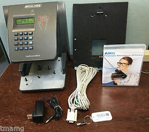 Handpunch 2000xl Break Compliant W Amg Employee Management Software