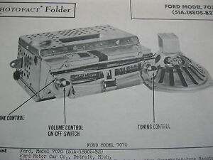 1947 Ford 7070 51a 18805 b2 Radio Photofact