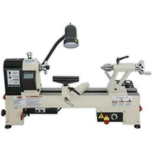 Shop Fox W1836 3 4 Hp 110 volt 12 inch By 15 inch Benchtop Wood Lathe