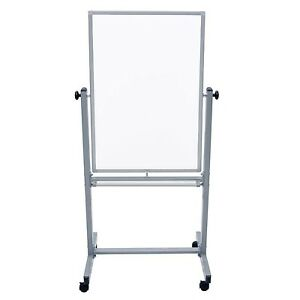 Luxor L270 Office Mobile Double Sided Magnetic Whiteboard In 24 X 36 Size New