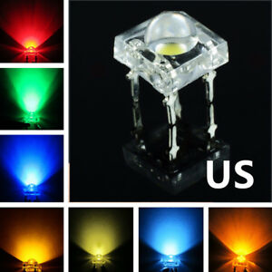 High Quality 5mm 4pin Piranha Led Super Flux Super Bright Led Light Colorfull