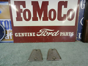 1956 Ford Or T Bird Block Off Plates Sst Above Tail Lights