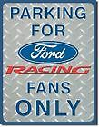 Replica Vintage Tin Sign Ford Reserved Parking Racing Fans Truck Shop Metal 1062