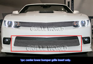 Fits 2014 2015 Chevy Camaro Ls Lt Lt With Rs Package Bumper Billet Grille