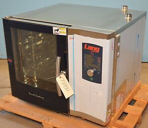 Unused Lang C106 6 Pan S s Electric Half Size Combi Oven