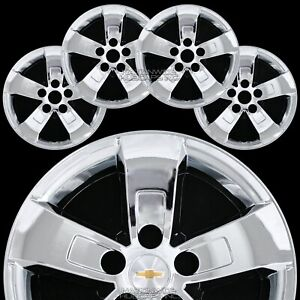 4 Fit Chevy Malibu Ls Lt 2013 16 Chrome 16 Wheel Skins Hub Caps Full Rim Covers