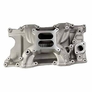 Mopar Sb Edelbrock 7577 Magnum Rpm Air gap Intake Manifold New 5 9 5 2 Dodge