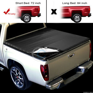 Snap On Tonneau Cover 94 03 Chevy S10 Gmc S15 Sonoma Fleetside 6 Ft 72 Cab Bed