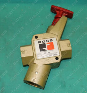Ross 1523 C 6002 1523c6002 Pneumatic Air Lock Out Exhaust Valve Safety