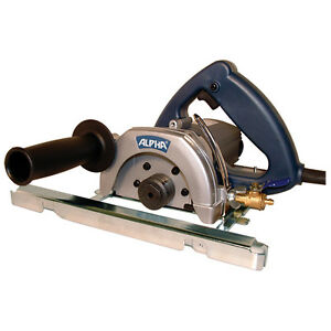 5 Inch Wet Stone Saw From Alpha