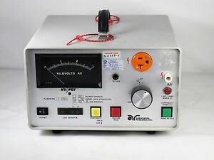 Associated Research 4040at Hypot Ground Bond Tester 3kv 15ma W Cables