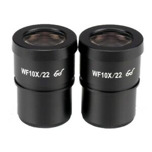 Amscope Extreme Wide Field 10x Eyepieces 30mm