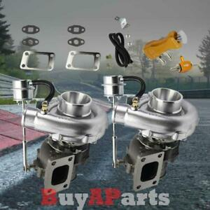 Upgrade Racing V band Twin Turbo Charger Gold Manual 30 Psi Boost Controller