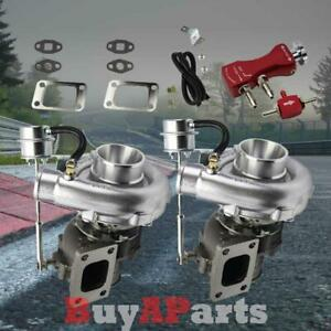 Upgrade Racing V Band Twin Turbo Charger Red Manual 30 Psi Boost Controller