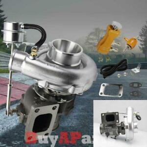 Vband T3 T4 Turbochargers W 8psi Internal Wastegate Boost Controller Gold