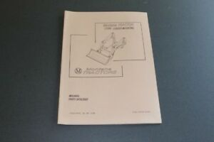 Montana Tractor Lt200 Loader Mounting Manual Includes Parts Catalogue