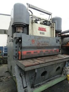 Pacific Model 1000f6 Hydraulic Squaring Shear