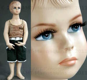 Child Mannequin X mas Christmas Baby Doll About 1 Year Old Boy Manikin Scott