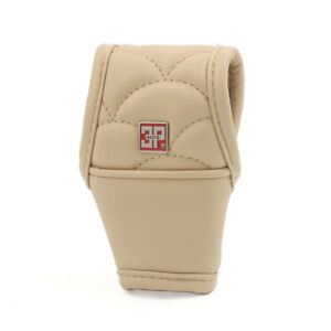 Universal Manual Automatic Car Auto Gear Shift Knob Cover Boot Sleeve Beige