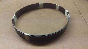 Black Trunk Banding Strip 1 1 4 10 Foot Coil Chest Steamer Metal Vintage Old