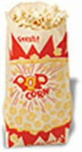 Benchmark 1000 One Ounce Popcorn Bags 41001 Popcorn Bag New