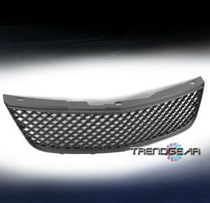 2000 2005 Chevy Impala Front Hood Main Upper Mesh Grille Grill Black Badgeless