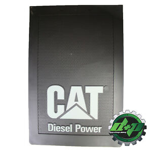 Cat Caterpillar Tractor Diesel Trailer Back Semi Mudflap Truck Mud Flap 24x36 Kw