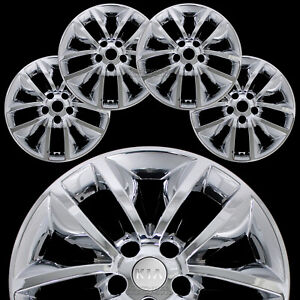 4 Fit Kia Sorento L Lx 2016 2018 Chrome 17 Wheel Skins Hub Caps Full Rim Covers