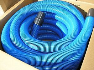 Carpet Cleaning Truck mount 50 Vacuum Hose 2 Blue