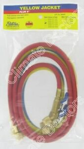 Yellow Jacket 29985 1 4 Ball Valve 60 Charging Hoses